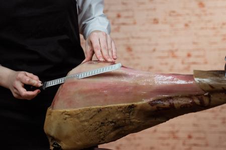 cómo cortar jamón, cómo cortar jamón ibérico, comprar jamón de bellota