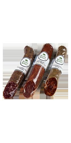 Lomo de cebo 50% ibérico, chorizo y salchichón Ibéricos