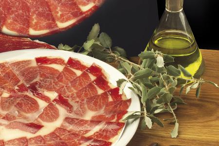 jamón, jamón ibérico, jamón de bellota, alimentación, salud, ácido oléico