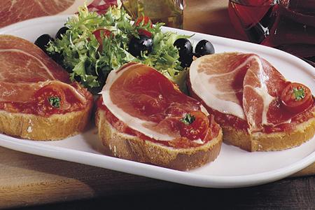 jamón, jamón ibérico, jamón y aceite, aceite de oliva, comprar jamón, recetas jamón, jamón iberico desayuno saludable